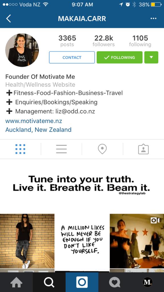 Instagram Unternehmensprofile - Kontakt Marken und Influencer