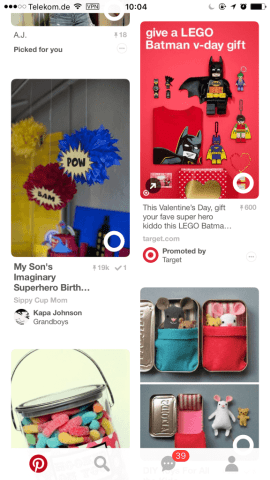 Pinterest Related Ideas - Empfehlungen Promoted Pins