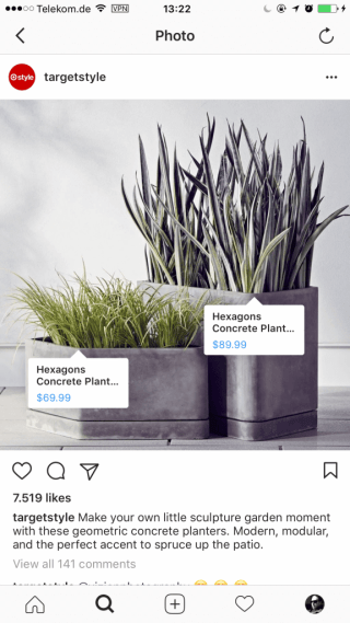 Social Selling - Instagram Shopping zu hohe Frequenz