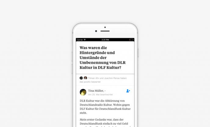 Quora Deutschland - tina mobile