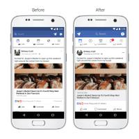 Bessere Navigation, Lesbarkeit und moderne Optik: Neues Facebook Design & Funktion für Instagram Kommentare