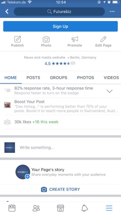Facebook story jemanden markieren