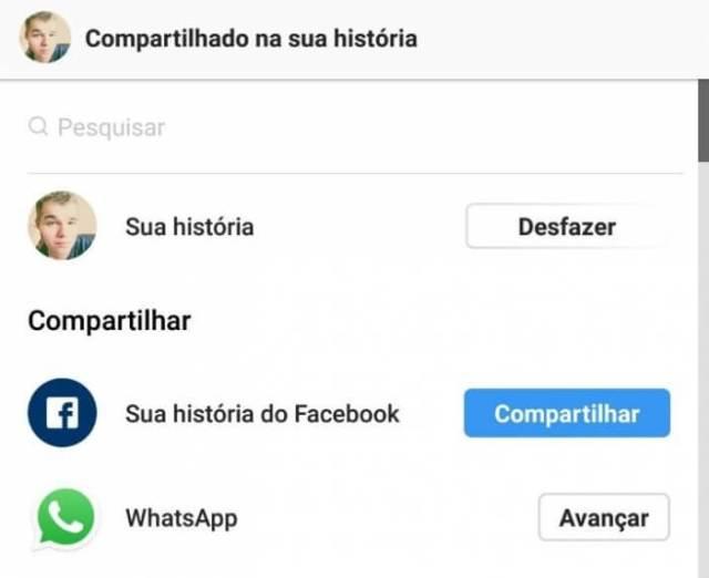 Instagram Stories als WhatsApp Status veröffentlichen