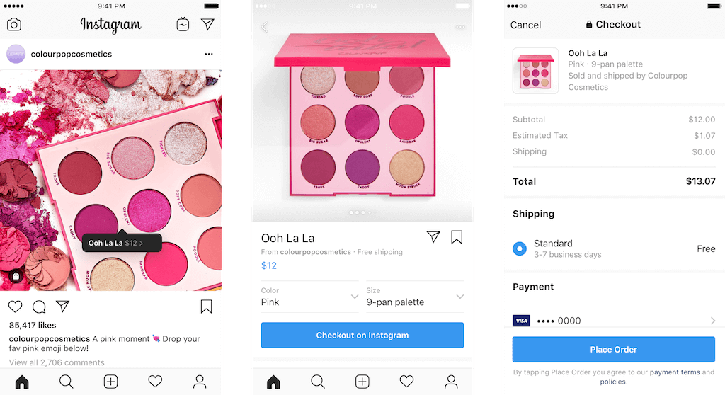 Instagram-Checkout-Commerce