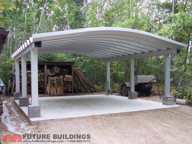 Metal Carport Kits  Steel Shelters  Steel Carport Kits