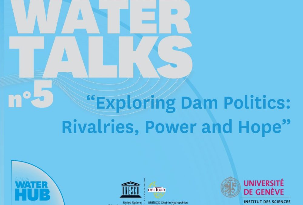 Watch: Prof Julien Harou at the Geneva Water Hub