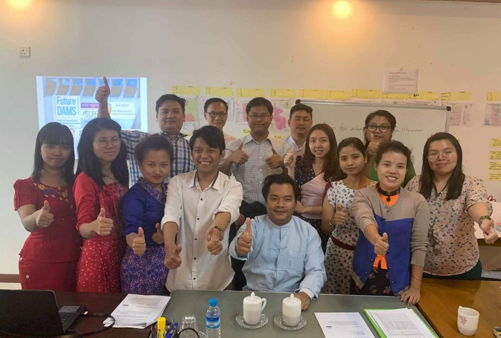 5th Batch of Young Water Professionals (1st Batch of Myanmar Water Academy) training: Myanmar