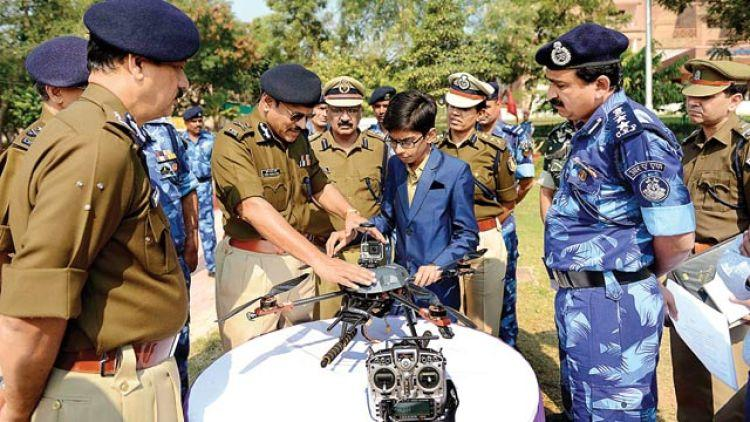 16-Year-Old Indian Student Developed a Life-Saving Drone