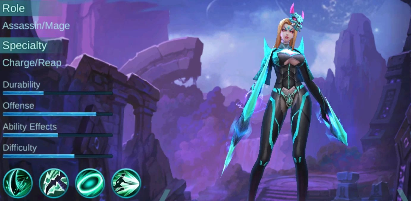 Wallpaper Mobile Legend Karina Hd Gudang Wallpaper
