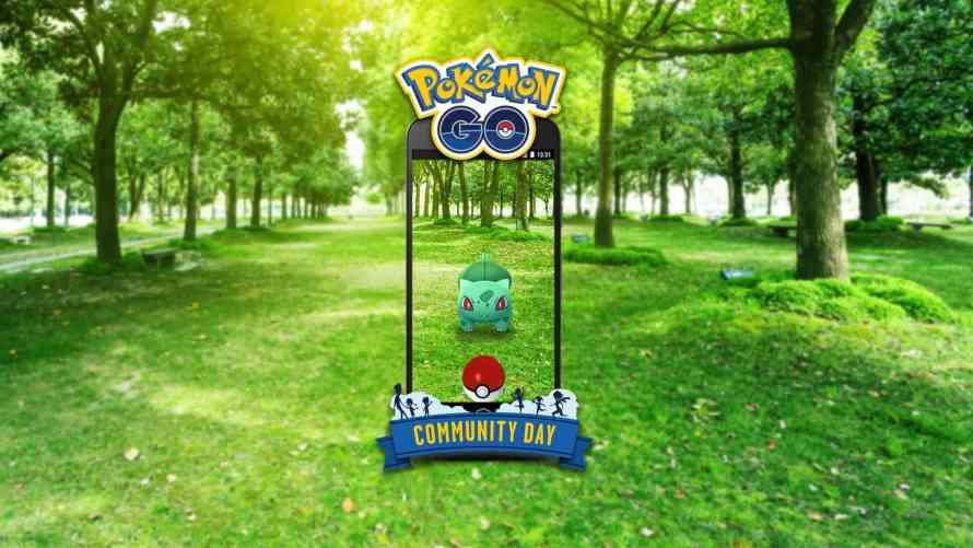 Resultado de imagen para bulbasaur shiny community day pokemon go