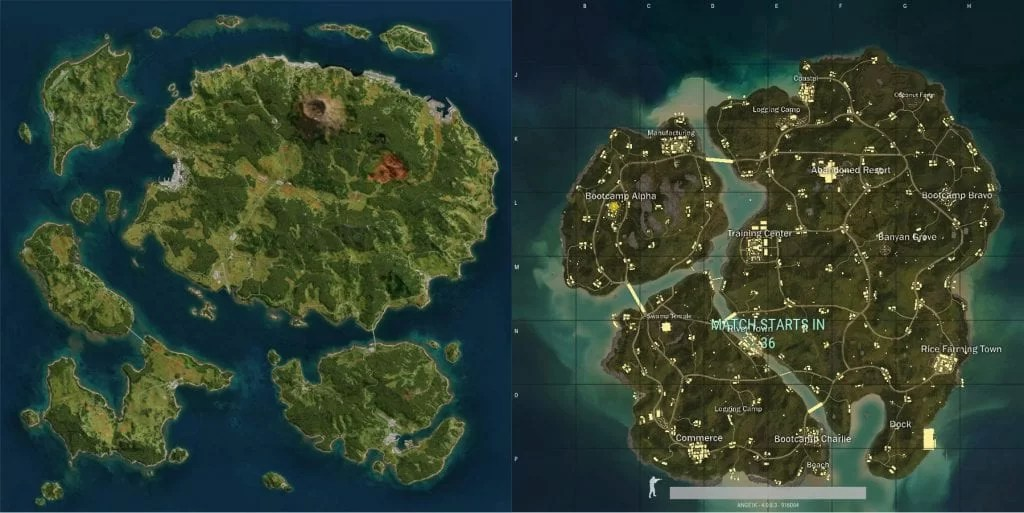 PUBGs New Sanhok Map Surely Reminds Of Arma 3s Tanoa FGR
