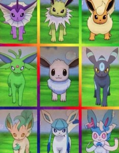 In case of  shiny eevee and its evolution release here   how they look also pokemon go community day iv chart fgr rh futuregamereleases