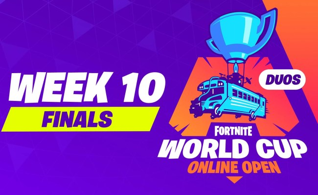 Fortnite World Cup Qualifier Week 10 Finals Na East Duos