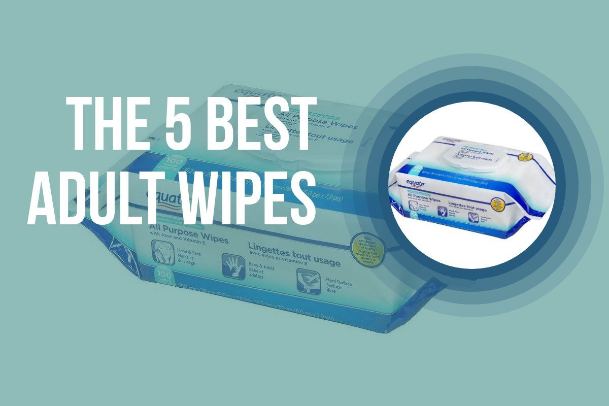 Disposable adult wipe