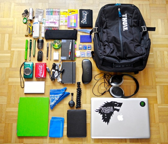 work supplies - The 7 Best Macbook Pro Backpacks To Keep Your Laptops Safe When Traveling