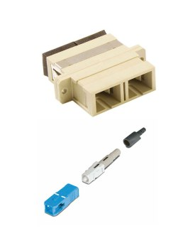 Fibre Adaptors & Connectors