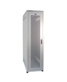 Prism Server Cabinet 600mm Wide with the door closed.