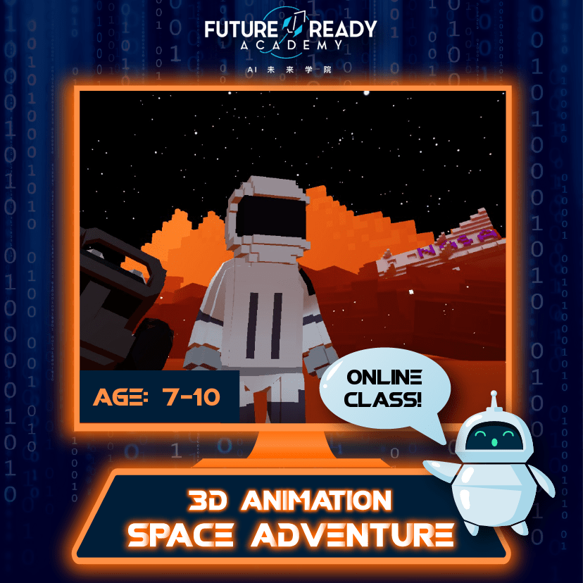 3D Animation Space Adventure