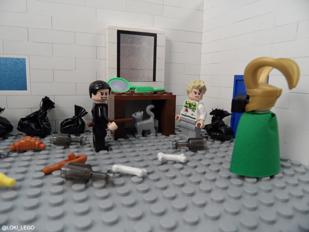 Behind the scenes of Lego High-Rise Page 110.