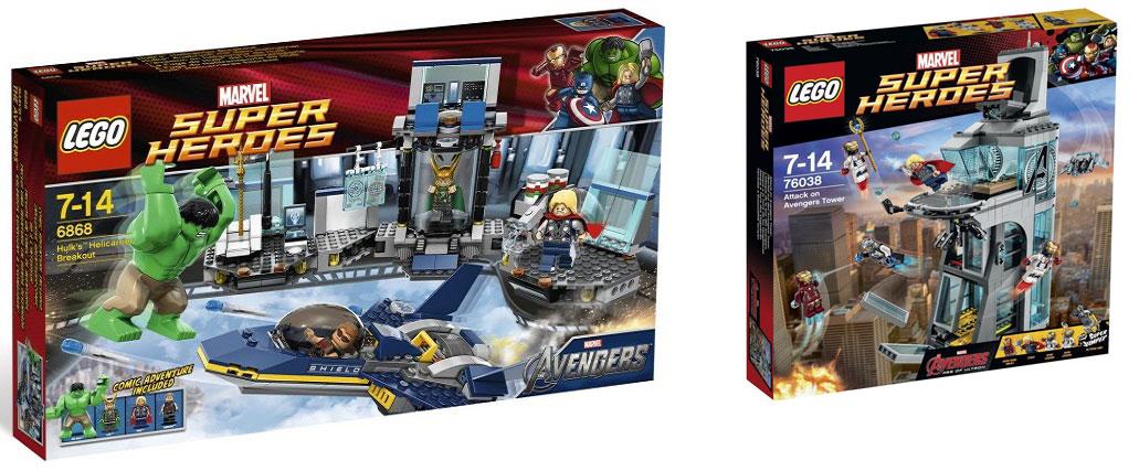Review: Old LEGO Avengers vs New LEGO Avengers - Future