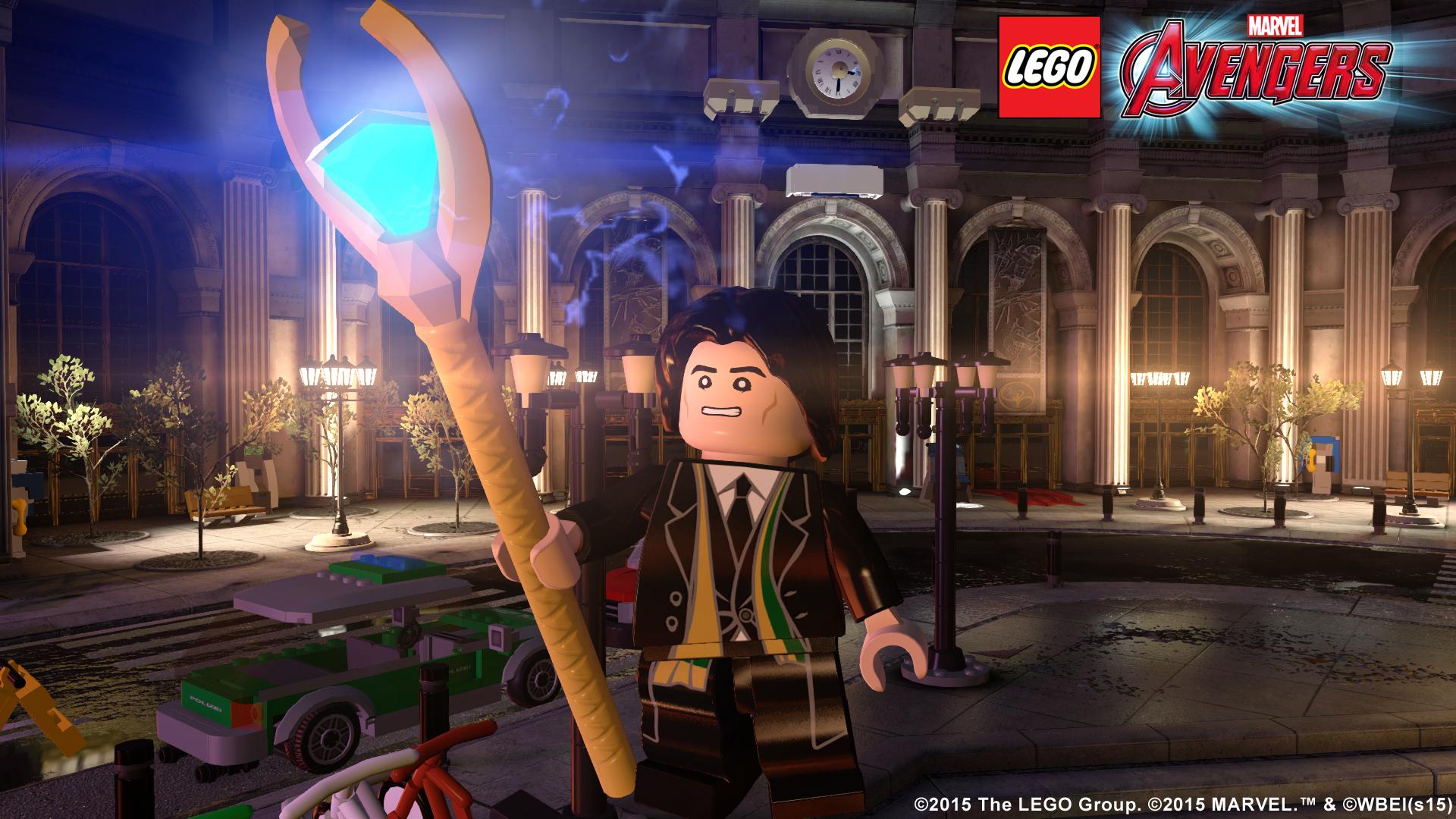 Lego Loki in LEGO Marvel's Avengers