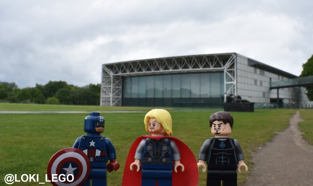 New Avengers Compound filming location at the University of East Anglia