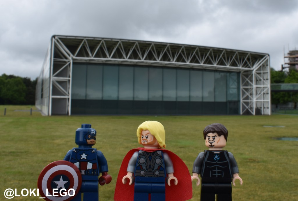 New Avengers Facility filming location at the University of East Anglia