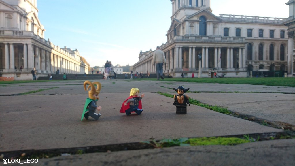 Greenwich, Filming Location for Thor: The Dark World