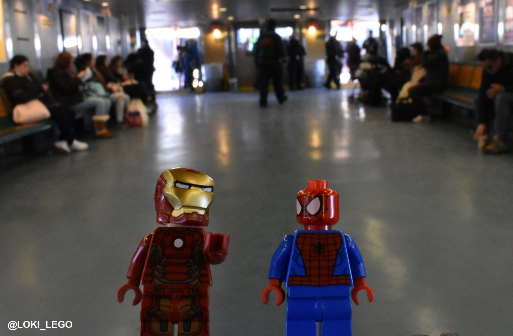 Spider-Man Homecoming on the Staten Island Ferry