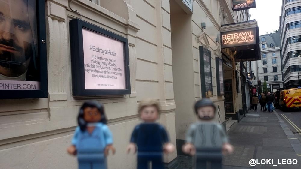 Betrayal at the Pinter Theatre