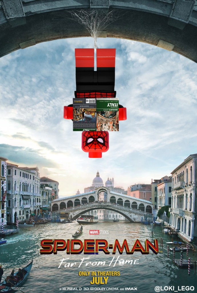 LEGO Spider-Man Far From Home Poster