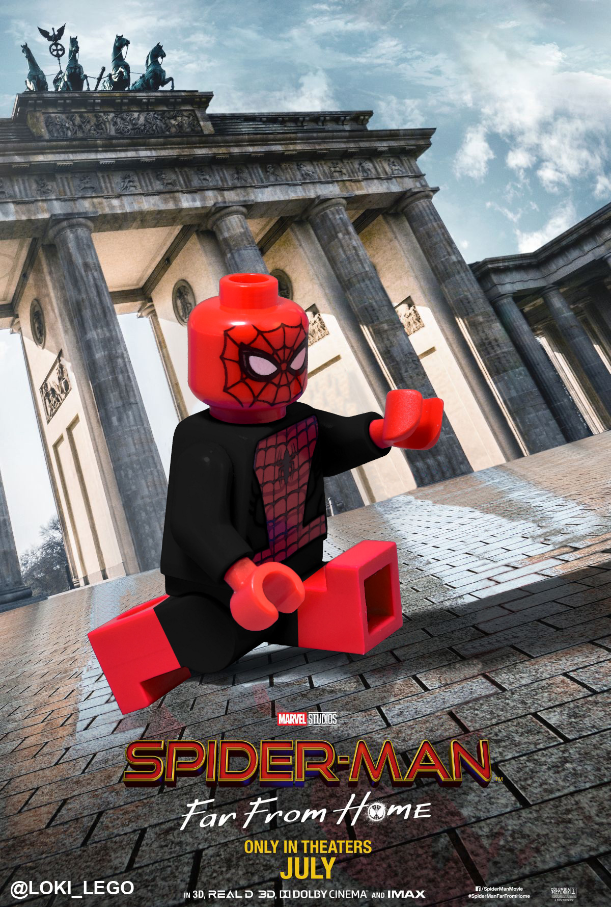 Three Spider-Man Far From Home International Posters