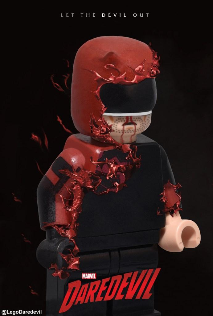 LEGO Daredevil Season 3 Poster