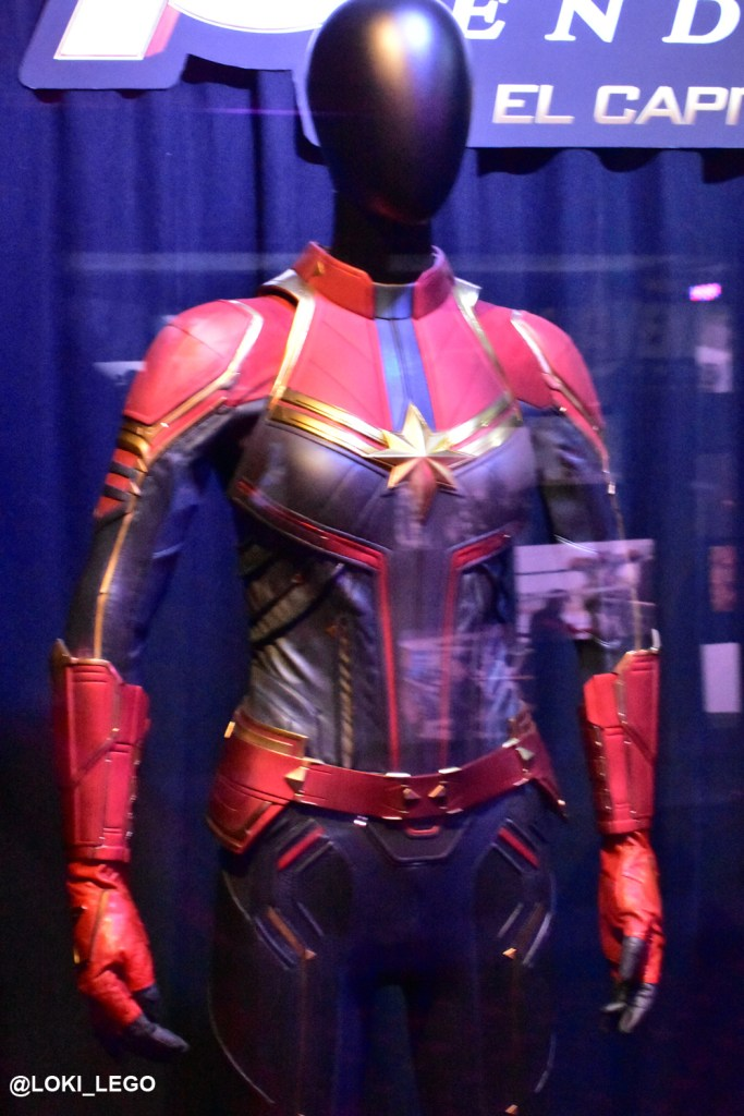 Avengers Endgame Costumes at the El Capitan