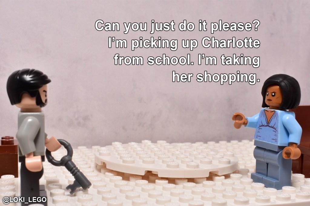 LEGO Betrayal Scene Three