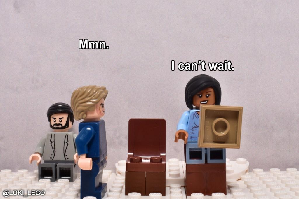 LEGO Betrayal Scene Five