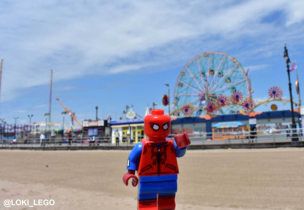 Spider-Man Homecoming at Coney Island