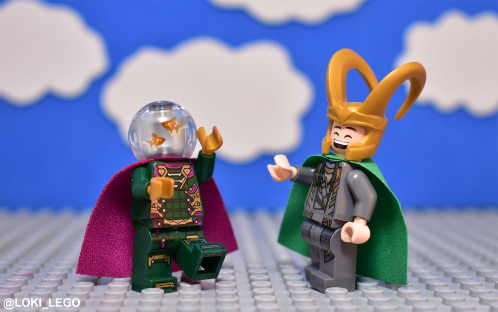 Mysterio is a terrible sorcerer