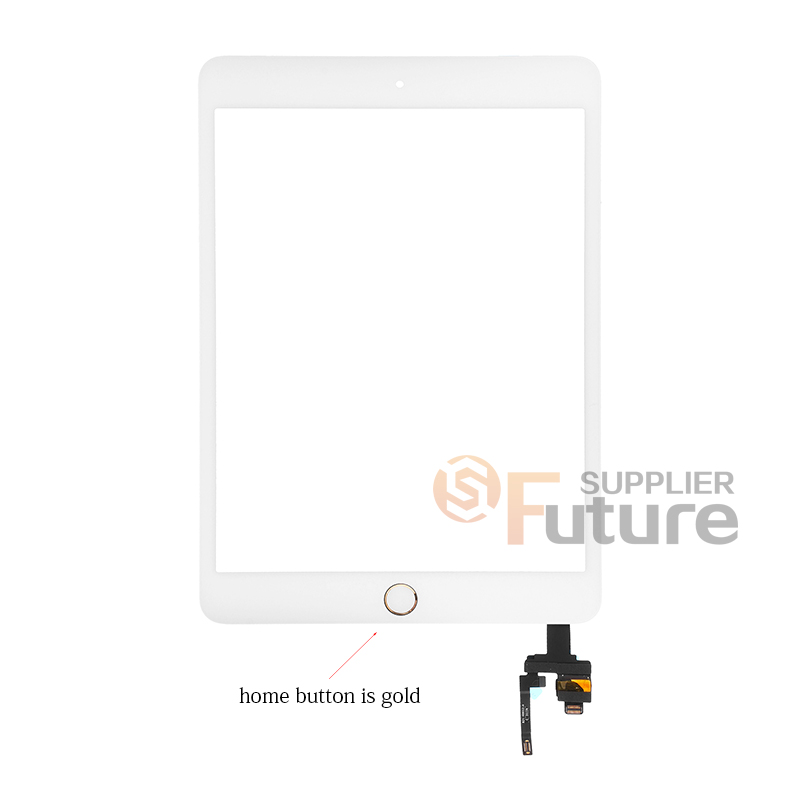 Apple iPad Mini 3 Digitizer Touch Panel Assembly with IC Board