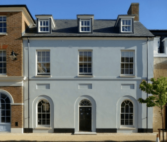 a home in Poundbury, Dorset