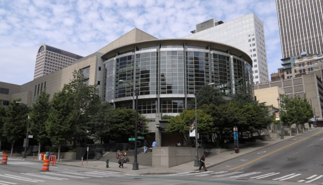 Benaroya Hall. Image credit: Andrew A. Smith.