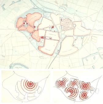 Poundbury's polycentric plan