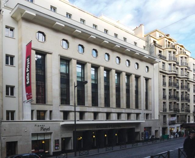 Salle Pleyel. Image credit: PLINE.