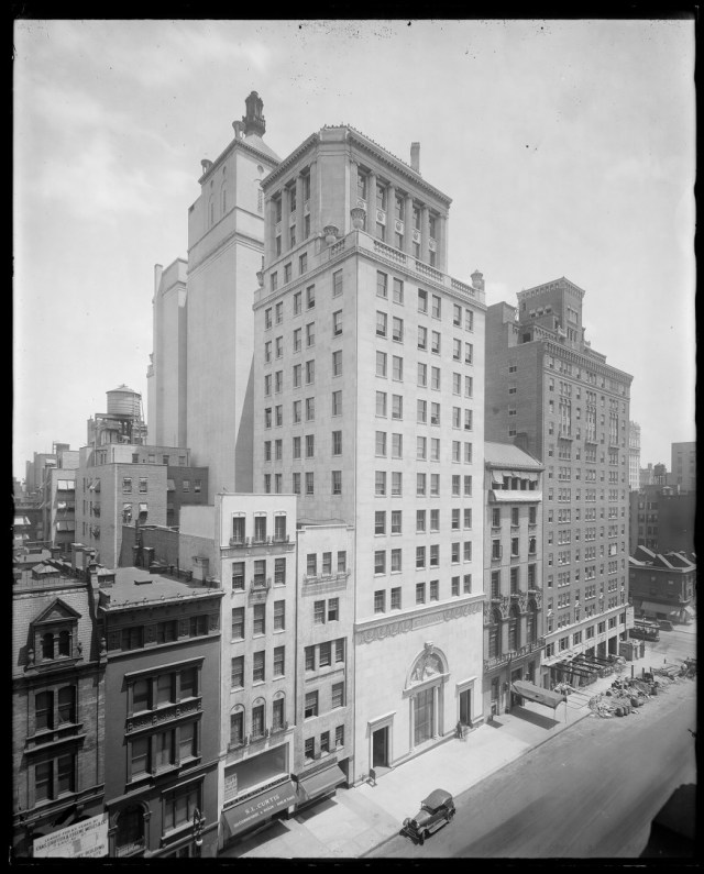 Steinway Hall. Image credit: Museum of the City of New York.
