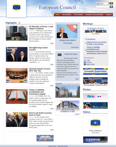 EU Council Website