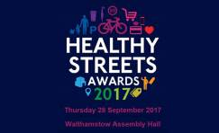 Healthy Streets Award advertisement.