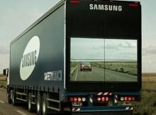 Samsung Safety Truck close-up