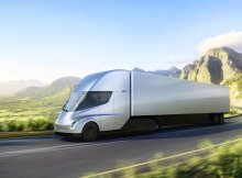 Tesla Semi Truck Front