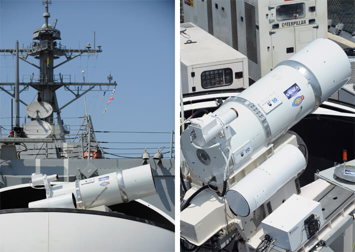 2014 navy lasers future military technology
