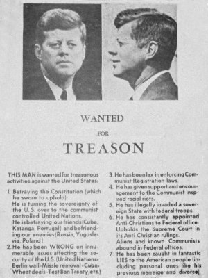 Anti-JFK poster